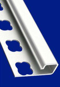 ACP – čtvercový hliníkový profil - Hliníkové lišty ukončovací